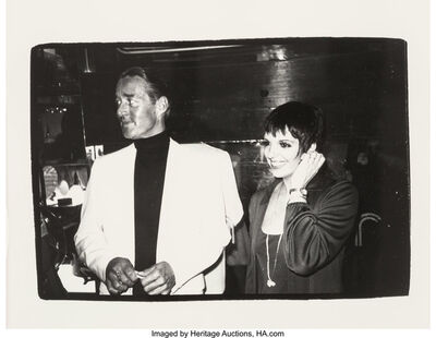 Andy Warhol, 'Halston and Liza Minnelli', circa 1980
