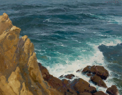 Donald W. Demers, 'Far Above the Surf, Laguna Beach, California', 21st Century