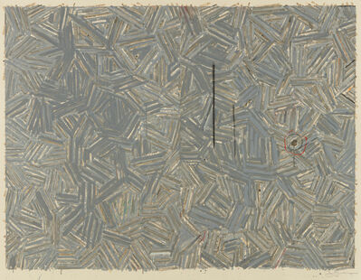 Jasper Johns, 'The Dutch Wives', 1977