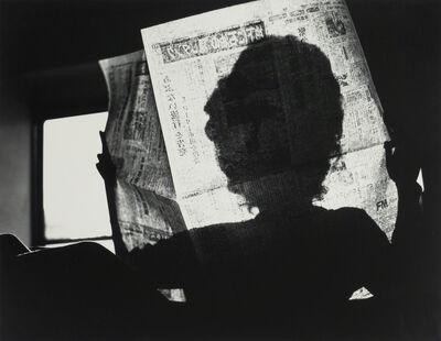 Kikuji Kawada, 'Shadow in Newspapers, Tokyo, Los Caprichos, 1973', 1975