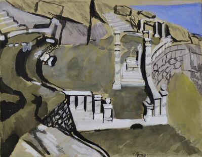 Wilhelmina Barns-Graham, 'Minack Cliff Theatre, Porthcurno', 1940