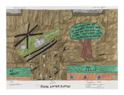 Dapper Bruce Lafitte, 'Flying Water Bottles', 2017