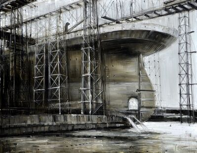"Valerio D'Ospina, '""Ship Under Construction (study)""', 2011"