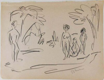 Ernst Ludwig Kirchner, 'Untitled (Pencil Drawing)', 1880-1938