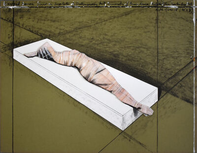Javacheff Christo, 'Wrapped Woman, Project for the Institute of Contemporary Art 1968', 1996