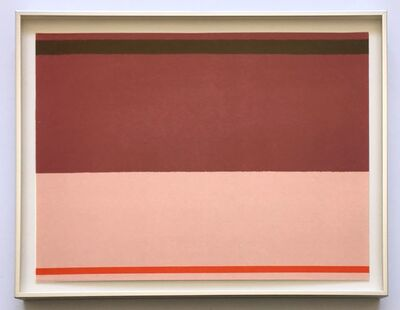 Kenneth Noland, 'Untitled', 1973
