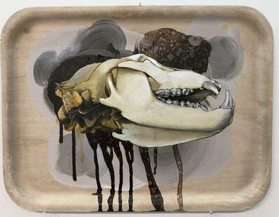 Sampsa Indrén, 'Head On A Plate IV', 2018