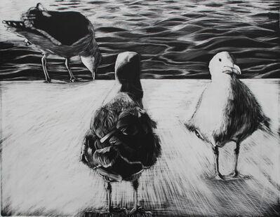 Kay Bradner, 'Three Seagulls', 2017