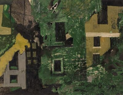 Keith Vaughan, 'Demolished Houses in St John's Wood', 1953