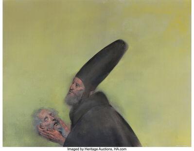 Rafael Coronel, 'Untitled (Man holding head)'