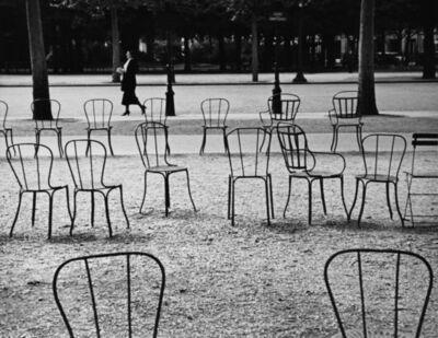 André Kertész, 'Chairs of Paris', 1927
