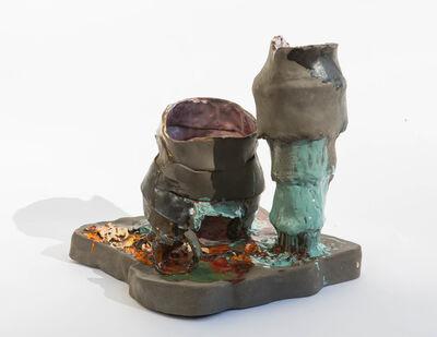 Isa Melsheimer, 'Piazza V', 2019