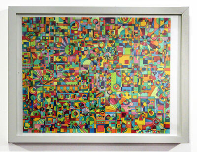 Andrew Chalfen, 'Amplifier Schematic', 2013
