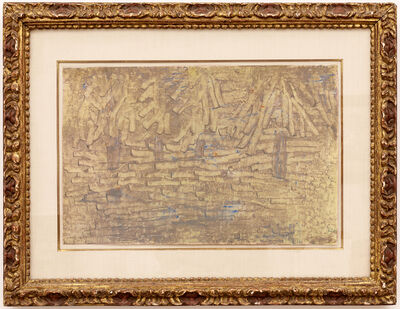 Paul Klee, 'Conifers in the Park', 1933