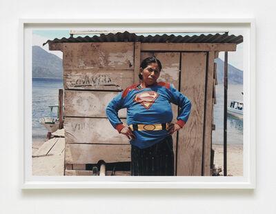 Walterio Iraheta, 'Super Chica en Atilan', 2017