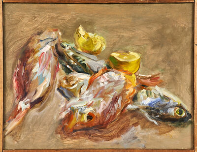 Raoul Middleman, 'Untitled (fish)', 1969