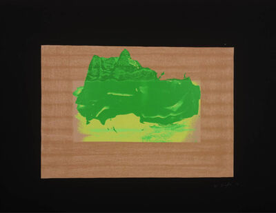 Howard Hodgkin, 'Indian Views Series – Plate D', 1971