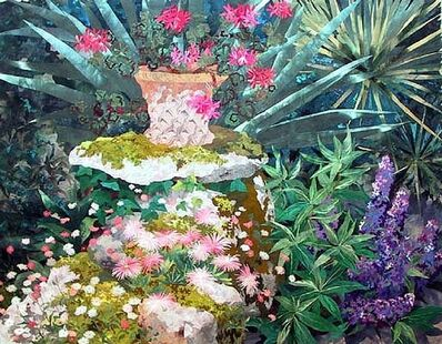 Amanda Richardson, 'Abby Garden Wall'
