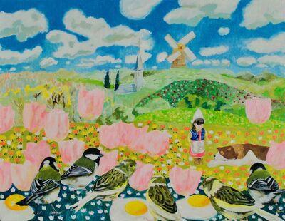 Teppei Ikehila, 'A Dog of Flanders Alloa', 2017