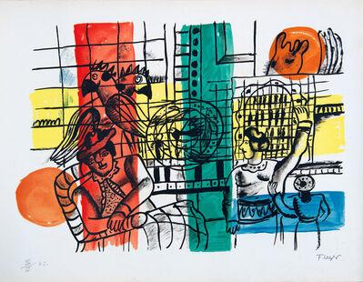 Fernand Léger, 'La Marchand d'Oiseaux', 1959