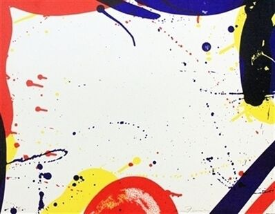 Sam Francis, 'Untitled (SF-61) (From portfolio 9)', 1967