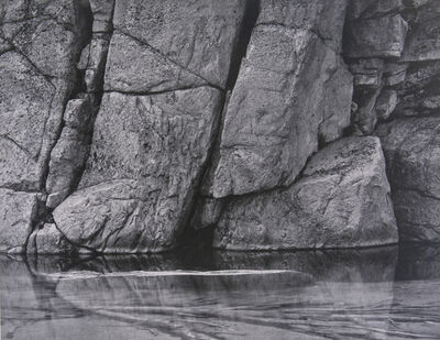 Ansel Adams, 'Rock and Water in Kern River Sierra', 1939