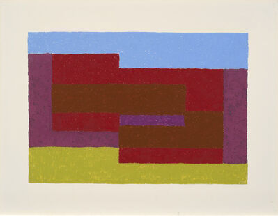 Josef Albers, 'To Mitla', 1940