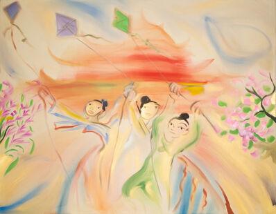 Sophie von Hellermann, 'Flying Kites', 2021
