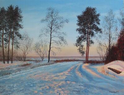 Viktor Kucheryavyy, 'A Path in the Snow', 2016