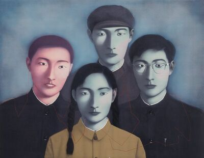 Zhang Xiaogang, 'Bloodline Big Family No. 1', 2006