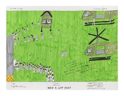 Dapper Bruce Lafitte, 'Need a Lift Folks', 2017