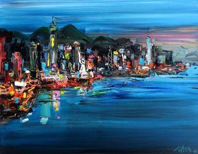 Zhu Hong, 'Night in Hong Kong', 2015