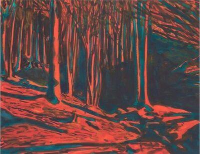 Martin Jacobson, 'Evening light, forest', 2013