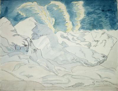 Erich Heckel, 'Windwolken', 1961