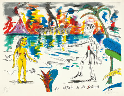 H.C. Westermann, 'An Affair in the Islands, from Six Lithographs (L.P. p. 179, pl. 82, A. & B. 19F)', 1972
