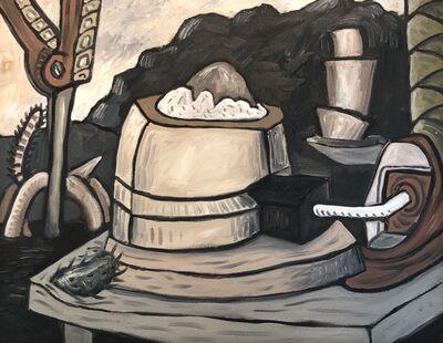 David Elliott, 'Industrial Lunch'