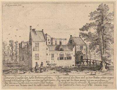 Pieter Jansz. Saenredam, 'Berkenrode Castle', probably c. 1628