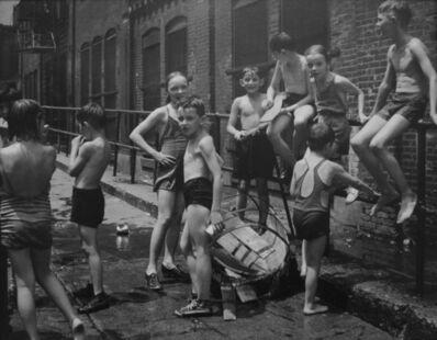 John Albok, 'Street Bathing', 1938