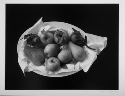 Paul Caponigro, 'Still life with pears', 1999 vintage