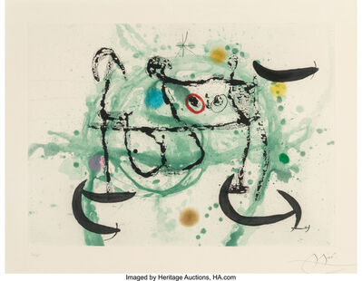 Joan Miró, 'L'ecartelee', 1970