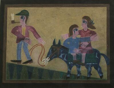 Eddie Arning, 'Untitled (On Horseback)', 1968-1970