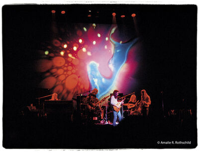 Amalie R. Rothschild, Jr., 'The Allman Brothers with Joe's Lights, Fillmore East, June 27, 1971', 1971