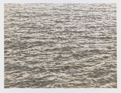 Vija Celmins, 'Untitled (Ocean), from the portfolio Untitled', 1975