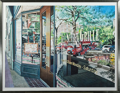 Bruce McCombs, 'Reflection 8th Street Grille', 2008