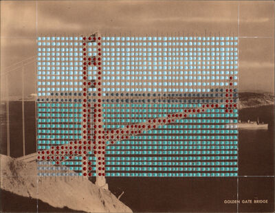 Nina Tichava, 'Borrowed Landscape Study No 159/ San Francisco Golden Gate Bridge #2 ', 2018