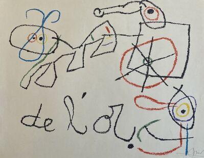 Joan Miró, 'Ubu aux Baleares I', 1971