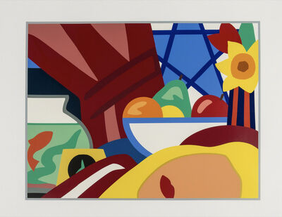 Tom Wesselmann, 'Still life with blonde', 1999