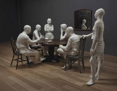 George Segal, 'The Dinner Table'
