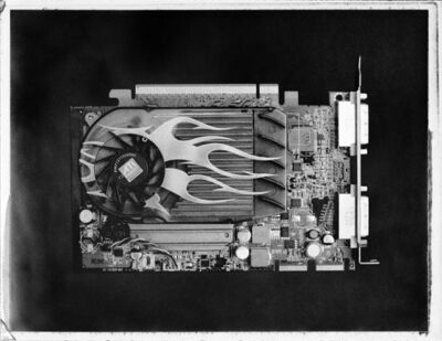 José Antonio Martínez, 'Graphics card 02', 2017