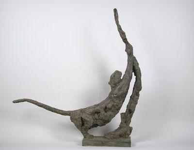 Patrick Villas, 'Panthère s'étirant contre l'arbre', 2021